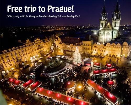 Free New Year Trip to Prague